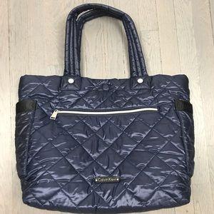 Calvin Klein Puffer Tote Handbag Shoulder Bag